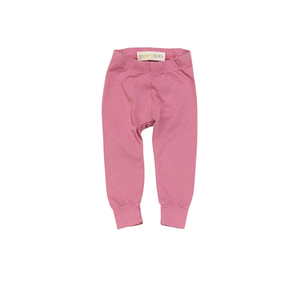 Go gently baby Pencil pants in Rose - Gemgem  - 1
