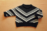 Chevron Intarsia Sweater - Gemgem  - 4