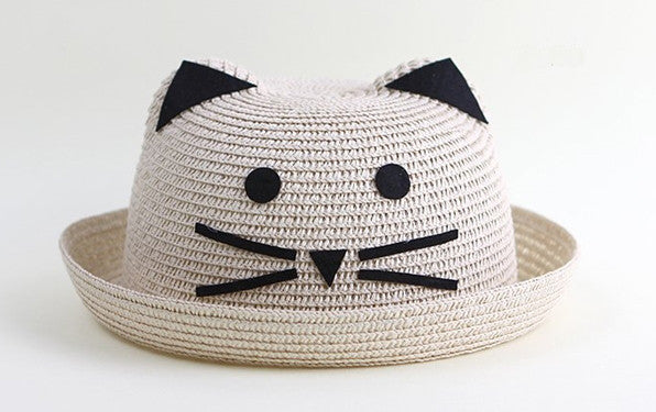 Hat with cat ears for toddlers