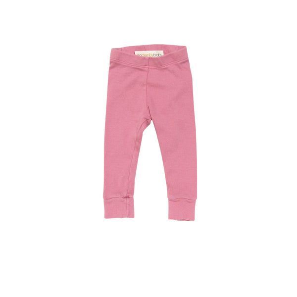 Go gently baby Pencil pants in Coral - Gemgem  - 1