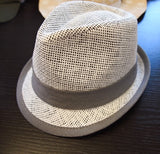 Ikks boy white fedora