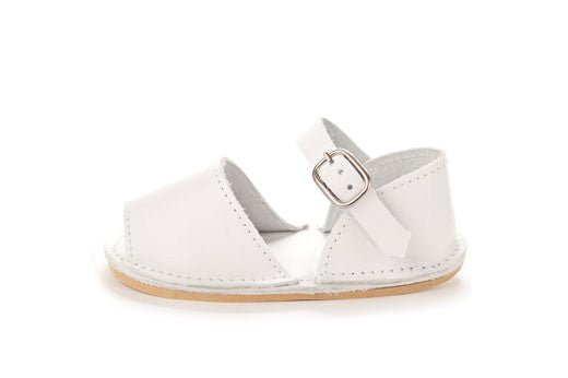 Avarcas Kids Little Frailera White