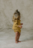 Rylee + Cru Dots N' Diamonds Bloomer / Mustard