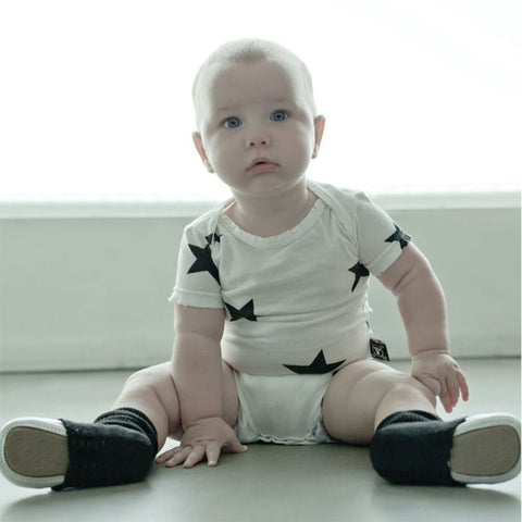 NuNuNu 'Star' Short Sleeve Cotton Bodysuit