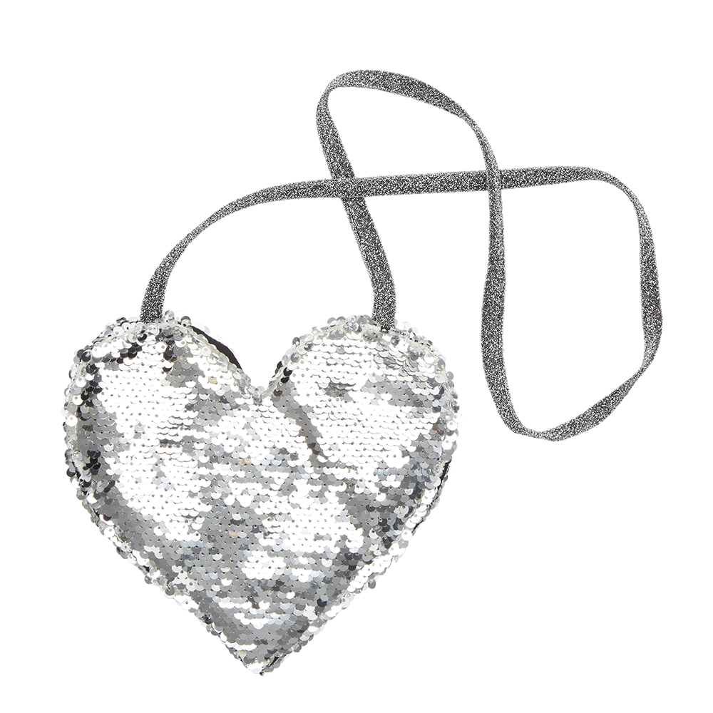 Rock Your Baby - All Heart Handbag Silver - Gemgem