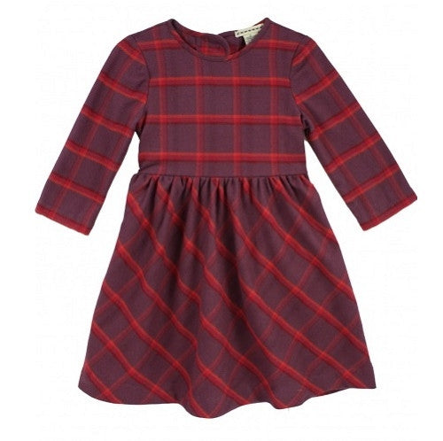 [Anthem of the Ants] Chalet Plaid Dress - Gemgem  - 1