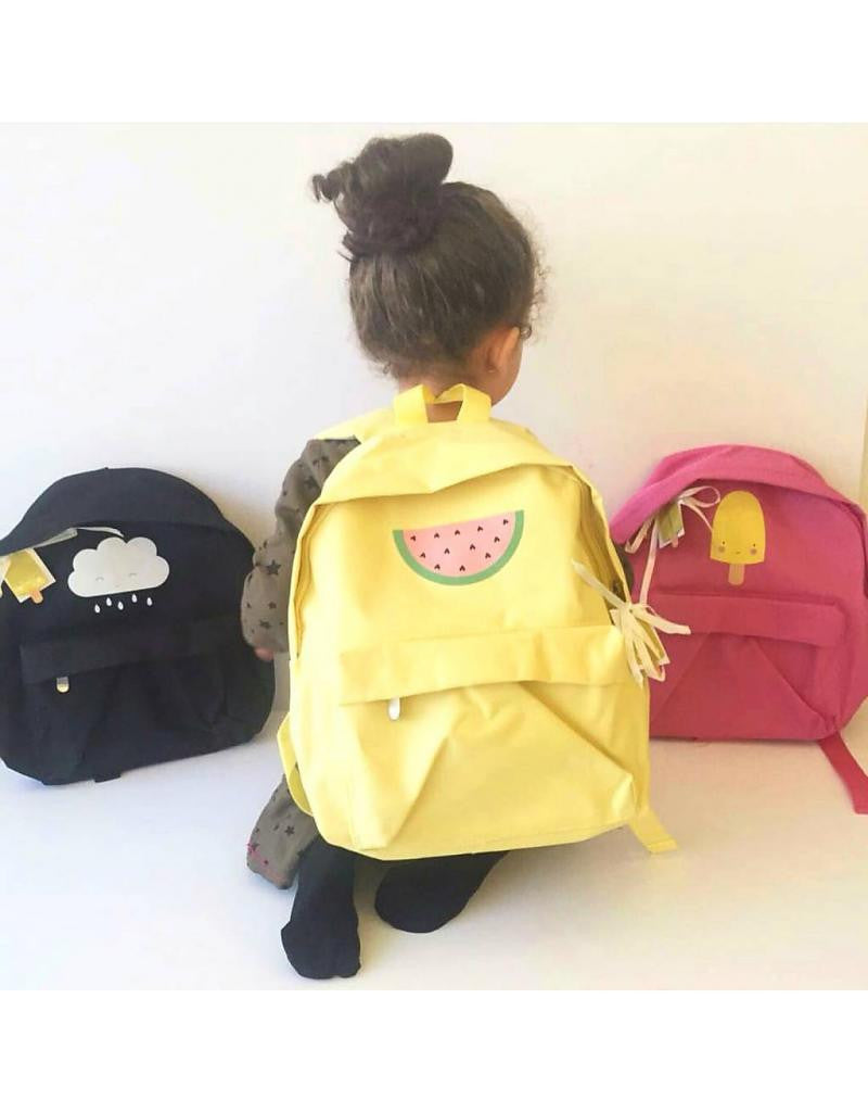 Watermelon Backpack by  A Little Lovely Company - Gemgem  - 1