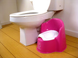 Baby Bjorn Pink Potty Chair