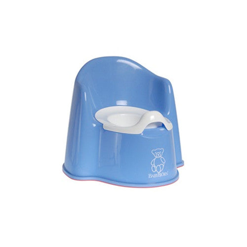 Baby Bjorn Blue Potty Chair - Gemgem  - 1
