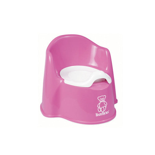 Baby Bjorn Pink Potty Chair - Gemgem  - 1