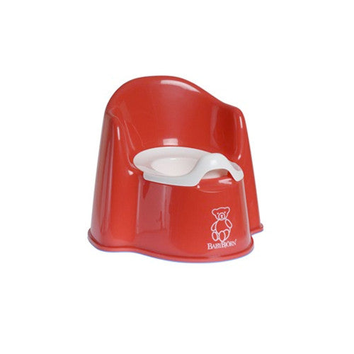 Baby Bjorn Red Potty Chair - Gemgem