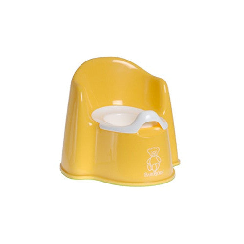 Baby Bjorn Yellow Potty Chair - Gemgem