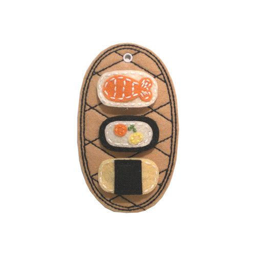 Sushi Anyone Felt Hair Clips 3 PK - Gemgem