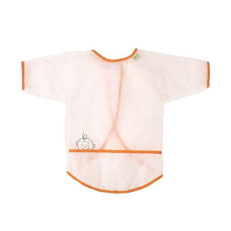[Sugarbooger] Peek-a-Boo Activity Bib - orange - Gemgem