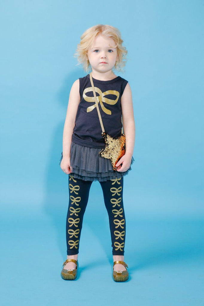 Rock your baby French Bow Circus Tights - Gemgem