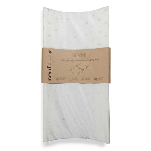 [Oeuf] Pure&Simple Eco-Friendly Contoured Changing Pad - Gemgem  - 1