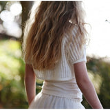 [TUTU DU MONDE] Cream of the crop shrug off white - Gemgem  - 3