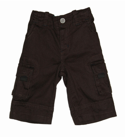 Egg Baby Cargo Pants in Brown - Gemgem  - 1