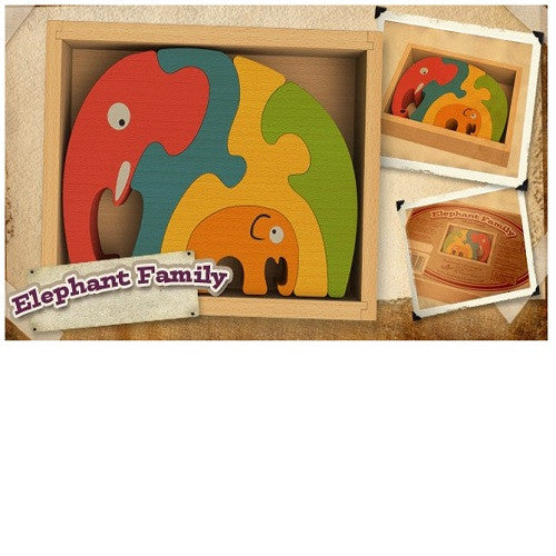 BeginAgain Elephant Family - Gemgem