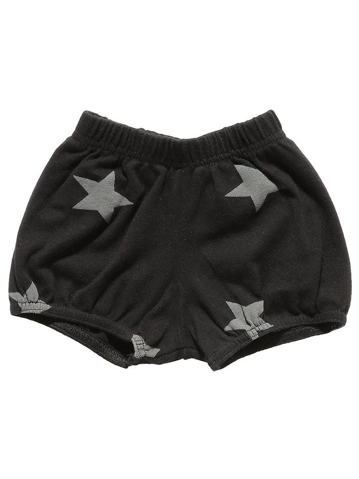 Nununu Unisex Star Yoga Shorts Dark Gray/Black