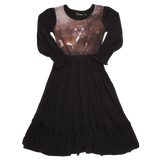 Rock Your Baby - Fawn Darling Dress - Gemgem  - 3