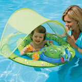 [Swimways] Baby Spring Float Activity Center w/ Canopy - Gemgem  - 3