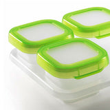 [Oxo] Baby Blocks Freezer Storage Containers - 4 Ounce Set - Gemgem  - 3