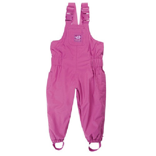 [Jojo maman] Waterproof Fleece Lined Dungarees - Gemgem  - 1