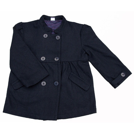 [Egg Baby] Girl Peacoat - Navy - Gemgem