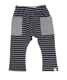 Go gently baby Stripe pants in Silver Gray - Gemgem  - 2
