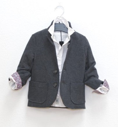 Ikks Grey Jacket - Gemgem  - 1