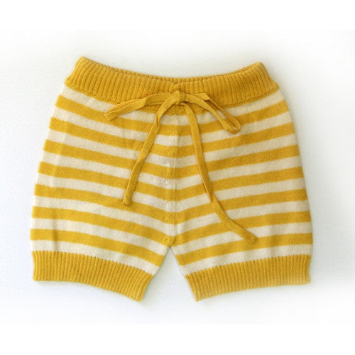 [Siaomimi] Striped shorts - marigold - Gemgem  - 1