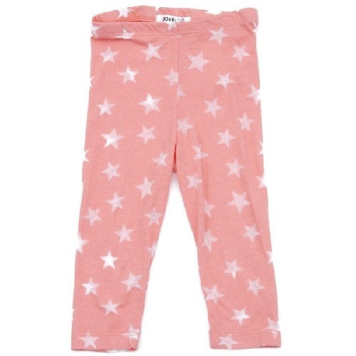 Joah love Star leggings in Coral - Gemgem