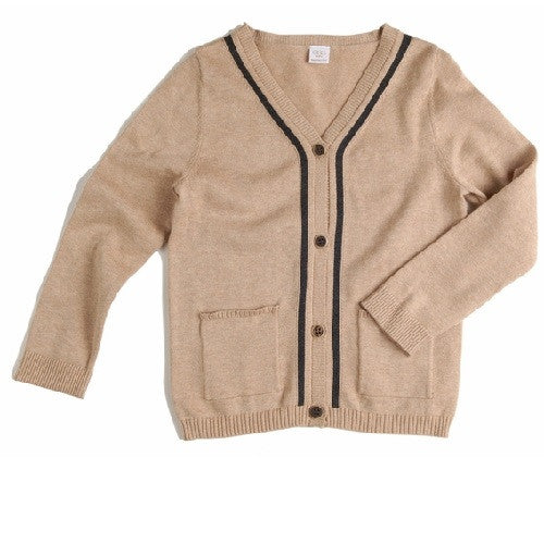 [Egg baby] Knit V-neck cardigan - Gemgem