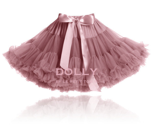 DOLLY by Le Petit Tom THUMBELINA pettiskirt mauve - Gemgem  - 1