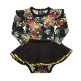 Rock Your Baby - Midnight Garden Baby Circus Dress - Gemgem  - 2