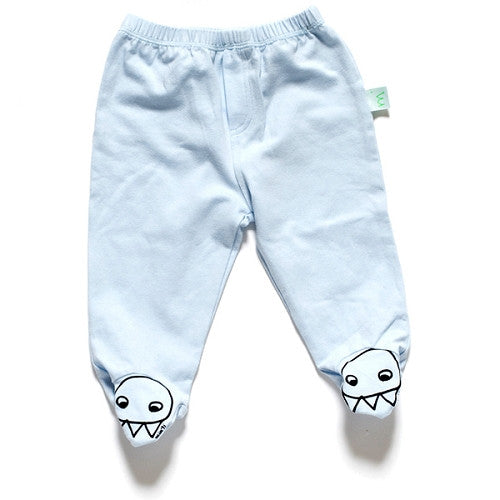 [Minti] Sock saver pant 'Claw Face' - baby blue - Gemgem