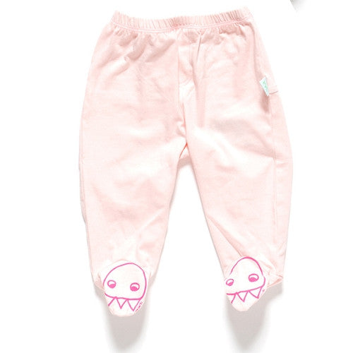 [Minti] Sock saver pant 'Claw Face' - light pink - Gemgem