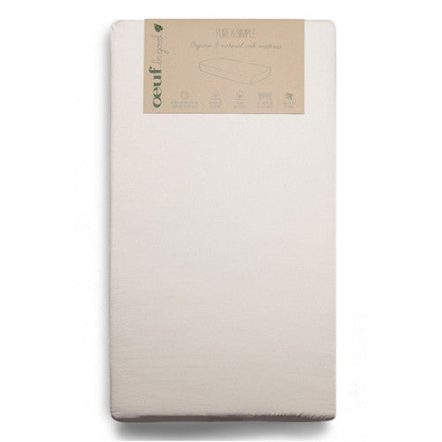 [Oeuf] Pure & Simple Organic & Natural Crib Mattress - Gemgem  - 1