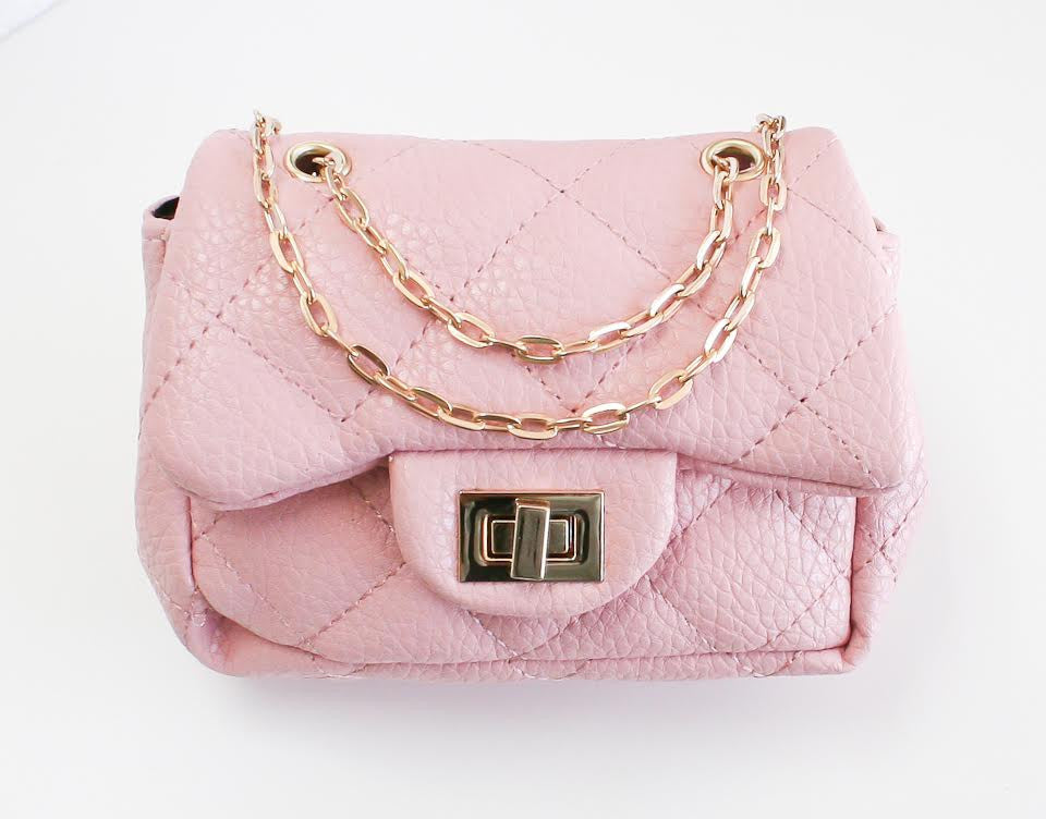 Girl Mini Pink Bag - Gemgem  - 1