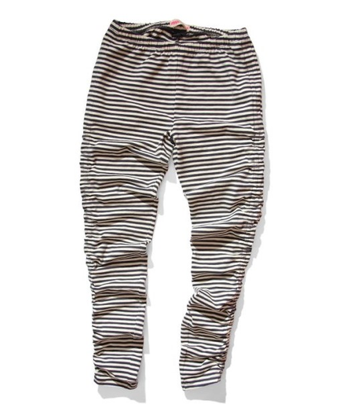 Munster kids Soft Black Stripe Leggings - Gemgem  - 1