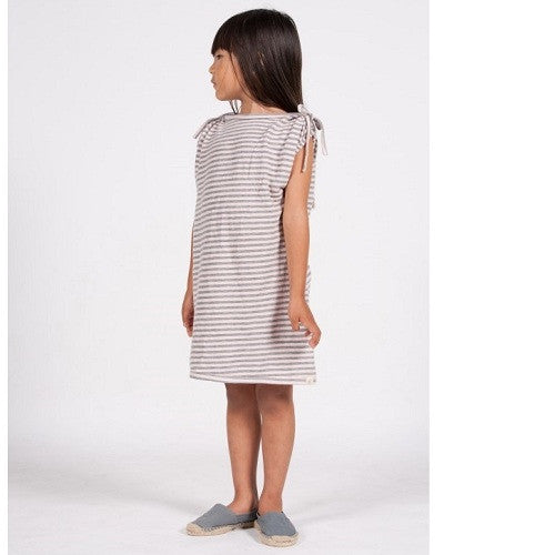 [Go gently baby] Stripe tee Dress - Gemgem  - 1