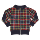 Rock Your Baby - Tartan Zip Cardigan - Gemgem  - 1