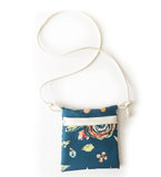 Swankaroo Mini Purse Teal Floral - Gemgem  - 1