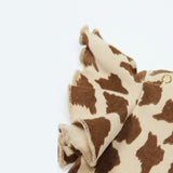 [Mini Rodini] Wing Body Giraffe onesie - beige/brown - Gemgem  - 2
