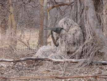 Using a Ghillie Suit for Hunting