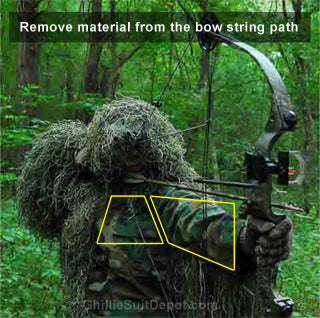 Customized Bow Hunting Ghillie Suit