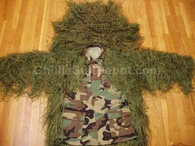 Homemade Ghillie Jacket