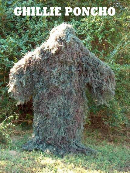 Large Customizable Jute Ghillie Kit