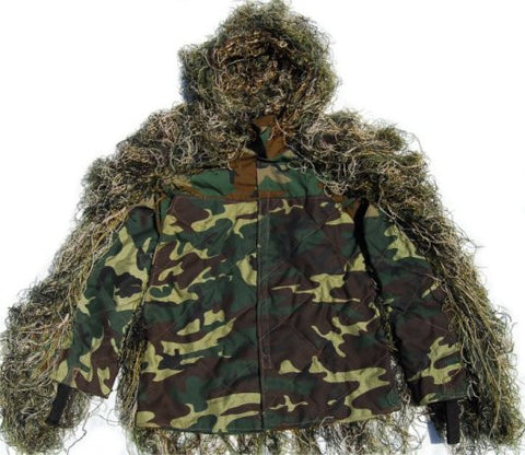 Lightweight Sniper BDU Ghillie Jacket
